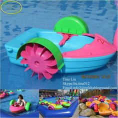 2015 Ce Approved Fwulong Water Park Kids Hand Paddle Boats For Photo Detailed About