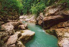 Краснодарский край Гуамское ущелье Апшеронский район