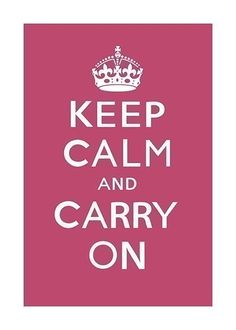 Keep on and Carry on #Graphic