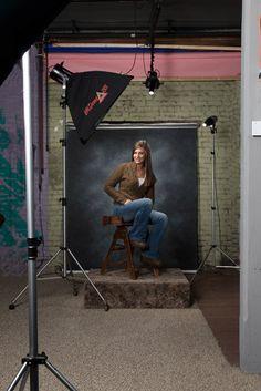 Studio Portrait Lighting - A How To
