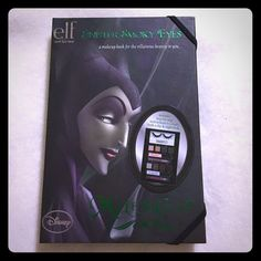 ELF Disney Maleficent Beauty Book Another awesome ELF Disney beauty book from the original evil villains collection. These were limited edition and extremely hard to get but now is your chance to get this brand new, never used collector's item. It comes exactly how it was sold retail and includes shadows, lashes, instructions and more. Make me an offer and this bad boy could be yours. ELF Makeup