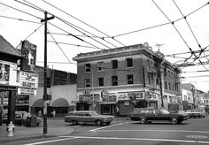 ntersection of Mission and 18th Street,  Mission district, San Francisco, 1979