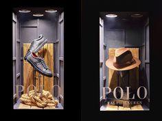 Ralph Lauren POLO windows at Selfridges by Harlequin Design, London – UK » Retail Design Blog