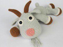 Goat Lisa Amigurumi Crochet Pattern / PDF e-Book / by DioneDesign Bead Crochet, Cute Crochet, Crochet For Kids, Crochet Dolls, Crochet Baby, Crochet Basics, Crochet For Beginners, Amigurumi Patterns, Crochet Patterns
