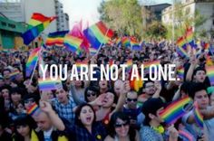 You are not alone. Ever. #LGBT family