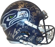 97666bba 58 Best Seattle Seahawks Autographed Football Collectibles images in ...