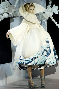 Dior -- Galliano Geishas