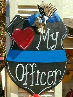 Thin Blue Line Love Police Decal Gun Badge Baton Handcuffs Tbl Car Decal Jade And Lemon