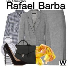 Inspired by Raul Esparza as Rafael Barba on Law & Order SVU.