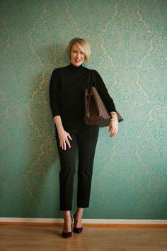 seriously, love black on black. and it's so slimming- glam up your lifestyle