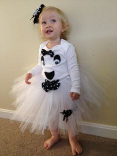 Ghost Tutu for Halloween by TUTUSandBOWBOWS on Etsy, $29.99