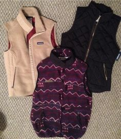 Really?! It's vest weather already?! #patagonia #columbia // Arkansas Style Blogger