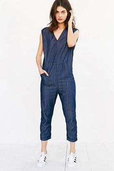 Silence + Noise Exaggerated Jumpsuit from Urban Outfitters - $79