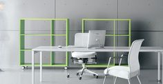 Spaceist supplies a large range of white office desks and white office furniture to suit any modern office interior