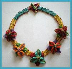 Customer Image Gallery for Diane Fitzgerald's Shaped Beadwork: Dimensional Jewelry with Peyote Stitch (Beadweaving Master Class Series) by Michellebelle1969