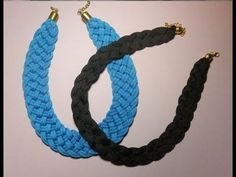 ▶ DIY. Collares con cordones de zapatillas. - YouTube