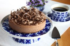 Sjokoladeiskake Tiramisu, Sweet Recipes, Mousse, Sweet Treats, Ice Cream, Sweets, Baking, Ethnic Recipes, Desserts