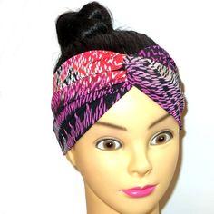 Grunge Haar-Stirnband Turban Twist von Maiblume - fiore di maggio auf DaWanda.com Grunge, Twist Headband, Headdress, Etsy, Accessories, Women, Fashion, May Flowers, Moda