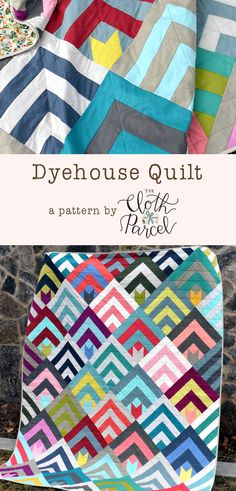Dyehouse Quilt Pattern