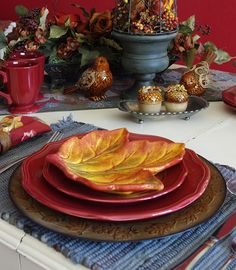 Happy To Design: Autumn Dining...French Country Style!