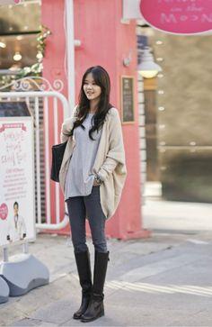 mn)コクーンカーディガン- 韓国ファッション通販|coco-closetココクローゼット