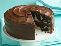 Marble Cake (Gluten Free) Recipe from Betty Crocker
