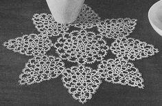 Tidings of Joy Christmas Doily Crochet Pattern PDF by bellacrochet