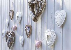 Hartjes kunnen niet ontbreken in uw romantische tuin