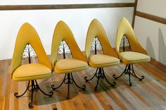 Hollywood Regency Chairs by Antarenni by themoderneclectic on Etsy, $275.00