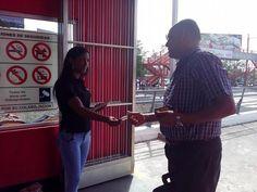 Continúa Campaña De Concientización Sobre Donación Órganos En Las Estaciones Del Metro De Sto. Dgo.