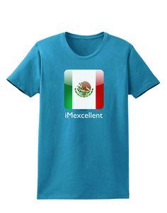 TooLoud iMexcellent Icon - Cinco de Mayo Womens Dark T-Shirt