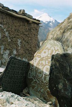 Engraved stones, Jammu and Kashmir, India