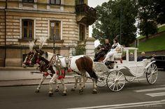 Cracovia - La carrozza gira per la città ... by ugo