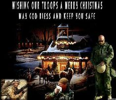 It's Christmas Eve in Afghanistan ~ please pray for all serving who can't be home for Christmas! ♥ ☻