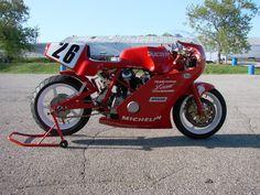 1986 ex. Jimmy Adamo (RIP) Ducati Bevel race bike built by Reno Leoni