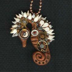 Steanpunk seahorse!!
