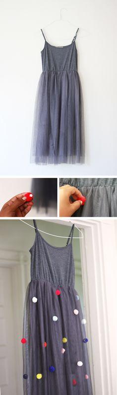 The Kipi Blog: DIY || #28 || I've Got Ya Spotted! Add some fun to a plain dress!