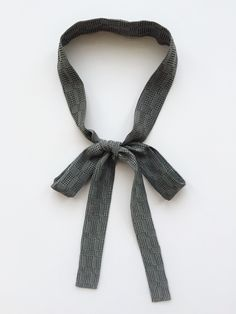 "Super Skinny Long Silk Scarf Tie 53"" x 1"" Silver Gray Silk Neck Tie. Ladies Bow Tie. Unisex. Silk Skinny HairTie. Thin Scarf Tie.Silk Ascot. by SmithLab on Etsy"