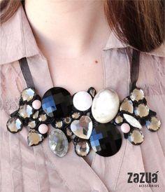maxi colar - zazuá acessórios (elo7)
