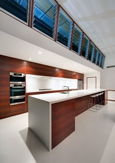 Beautiful #kitchen!  CplusC #Architects and Builders designed the Queens Park #Residence in Sydney, Australia.