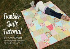 Riley Blake Designs Blog: Project Design Team Wednesday~Tumbler Quilt