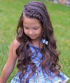 57 Cool Braids for Kids 2020 - Mr Kids Haircuts Lil Girl Hairstyles, Braided Hairstyles Tutorials, 60s Hairstyles, Princess Hairstyles, Little Girl Braids, Braids For Kids, Curly Hair Styles, Natural Hair Styles, Updo Curly