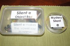 """""""Making Montessori Ours"""": Blue Series Object Boxes, Plural Object Boxes, Slient """"e"""" Object Box, Sight Word Storage"""