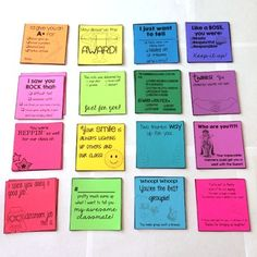 Positive Notes: Student to Student  Great for building community within your classroom or even the school!