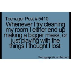 I clean, but I've been noticing I've been doing this more often as I got OLDER!!!