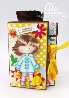 Latinas Arts and Crafts: Interpretaciones Tutorial 52: Tarjeta con Bolsillos