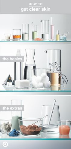 Our secret to a clear complexion? Finding your perfect skin care routine. The only thing is, routines aren't one-size-fits-all. So, to help guide you to glowing skin, we've put together simple tips, tricks and recommendations for every day (the basics) and some serious routine-boosters (the extras). Explore the full how-to at Target.com.