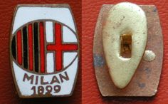 DISTINTIVO FOOTBALL SOCCER ASSOCIAZIONE CALCIO MILAN 1899 SCRITTA SOTTO  ANONIMO