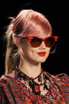 Lindsey Wixson for Anna Sui