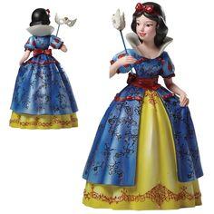 Figurine Disney Haute-Couture Blanche Neige Masquerade